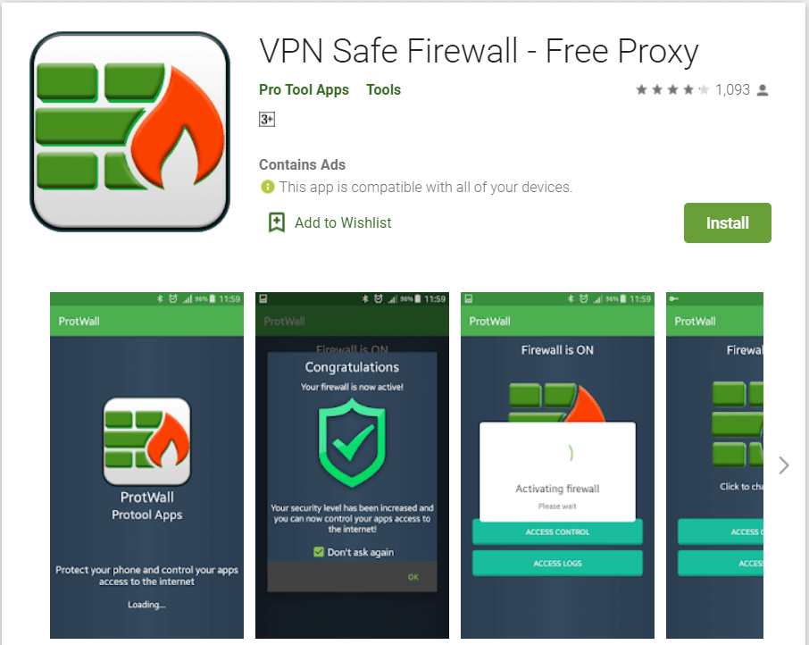 VPN Safe Firewall