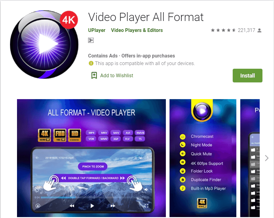 Video Player All player