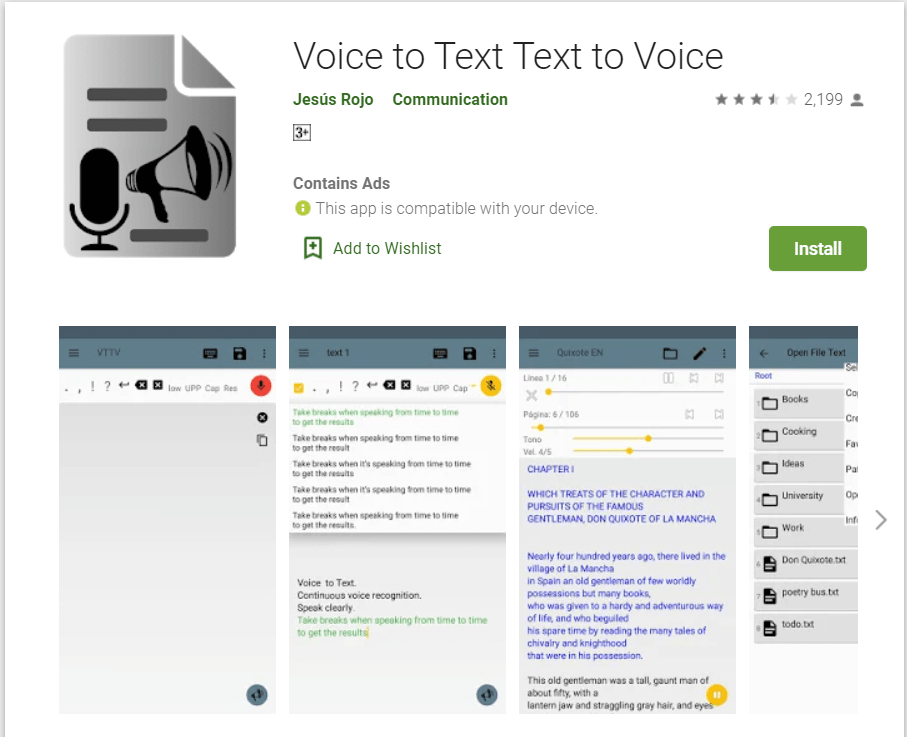 Voice To Text - Text To Voice