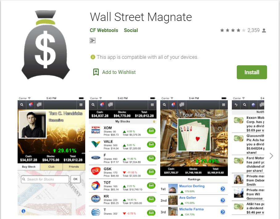 Wall Street Magnette