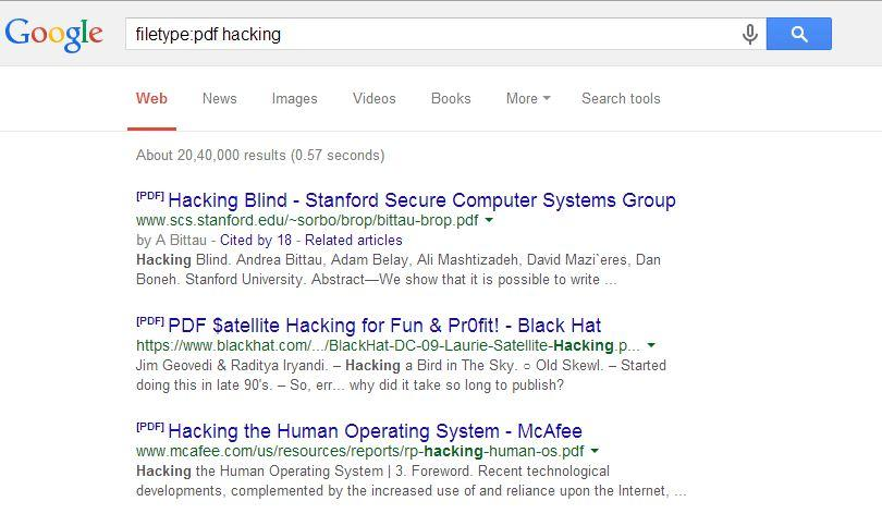 You can easily find PDF files as per your requirements on Google