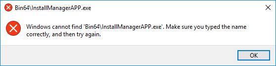 Fix AMD Error Windows Cannot Find Bin64 –Installmanagerapp.exe