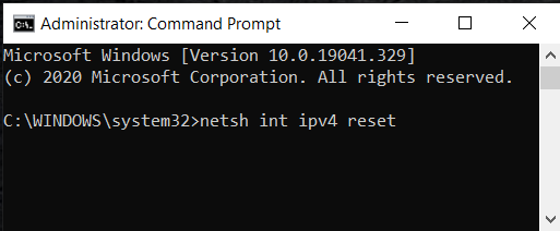 "netsh init ipv4 | Fix ""Servers are too Busy"" Error"