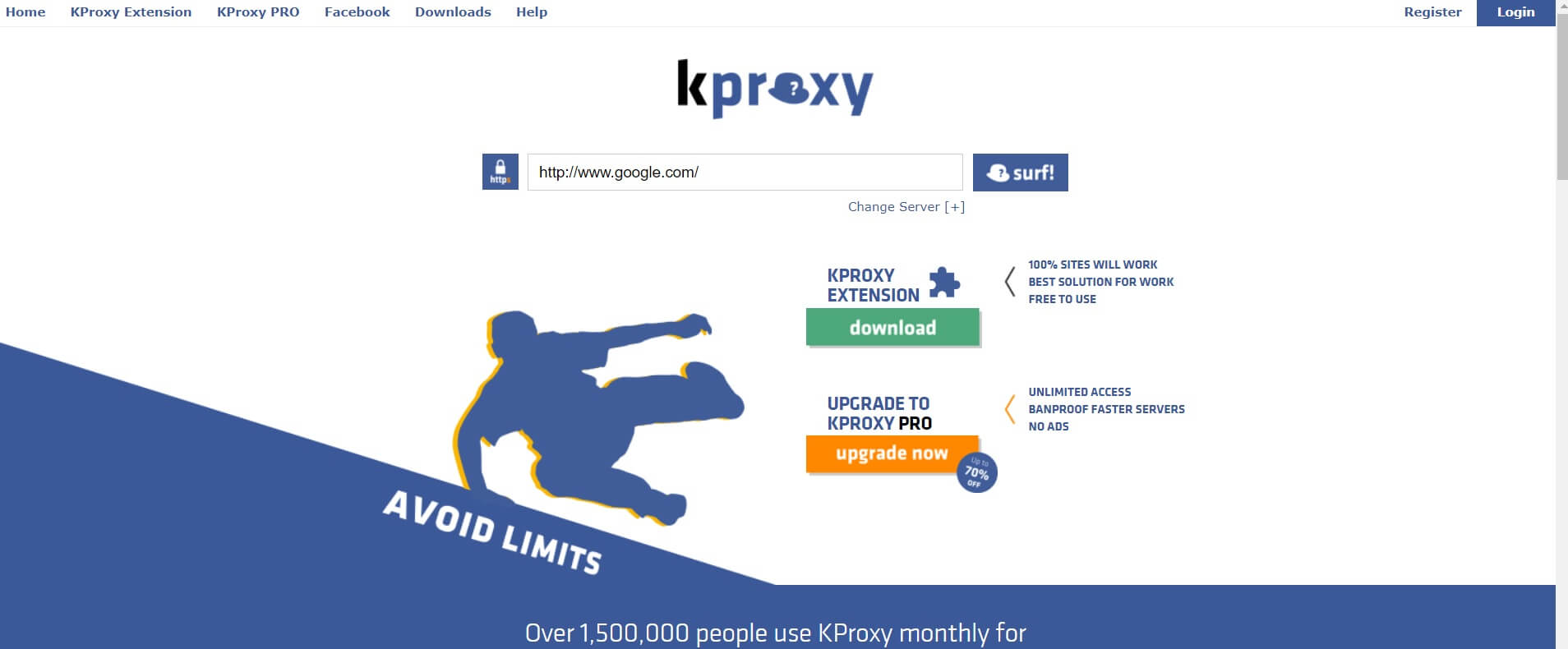 kProxy | Free Proxy Software For Windows 10