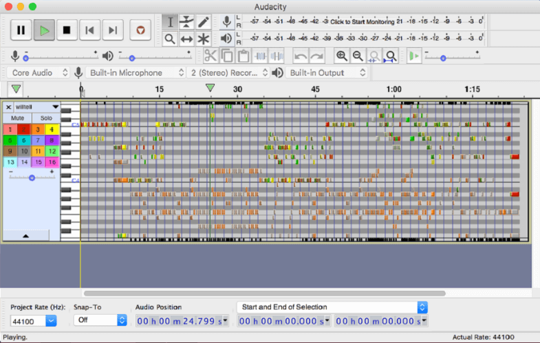 Audacity   Best Audio Recording Software for Mac