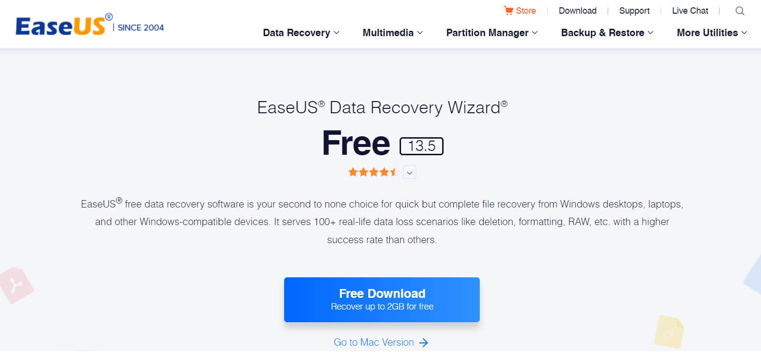 EaseUS Data Recovery Wizard Software