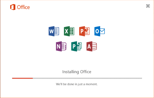 Install Microsoft Office on the new computer