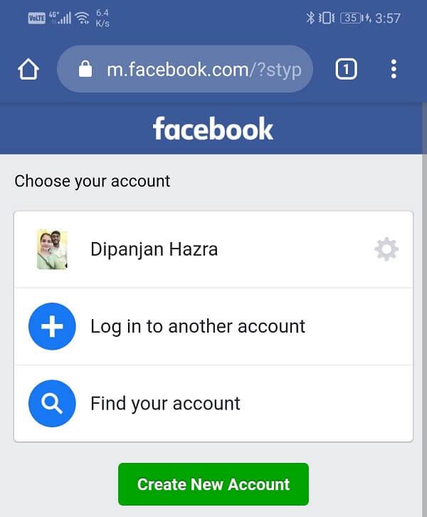 Open Facebook.com   How to log out of Facebook Messenger