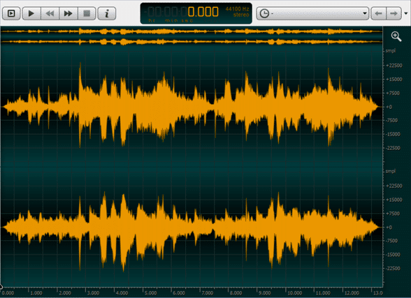 OcenAudio   Best Audio Recording Software for Mac