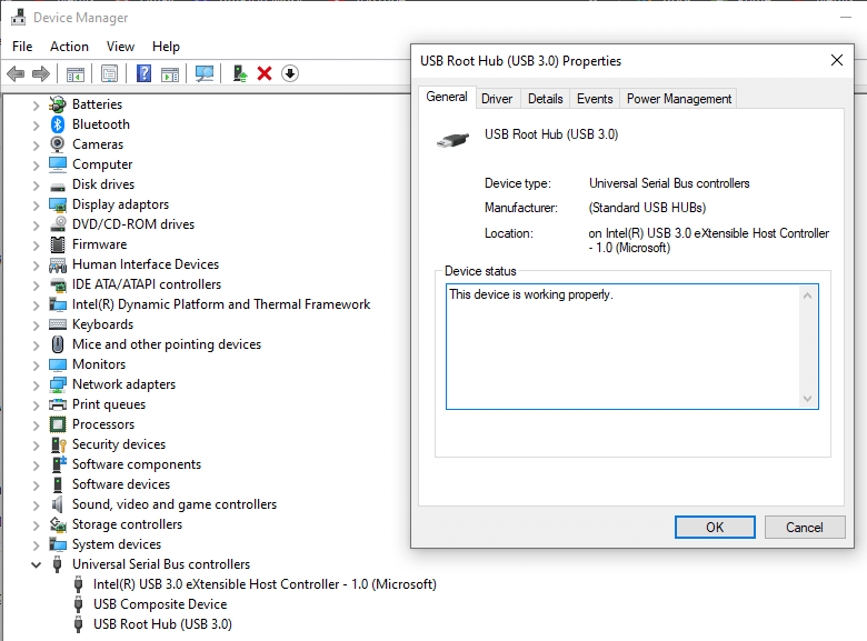 Right-click on the port's name and open itsproperties | Identify USB Ports on Computer