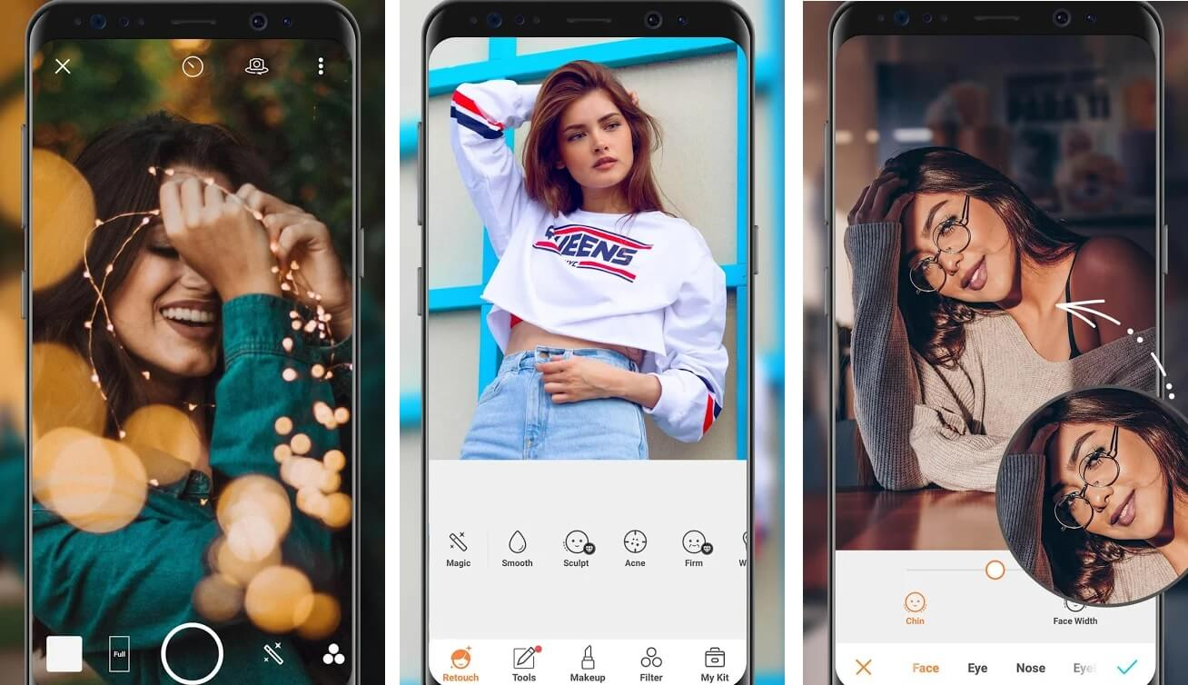 AirBrush   Best Photo Editing Apps for Android in 2020