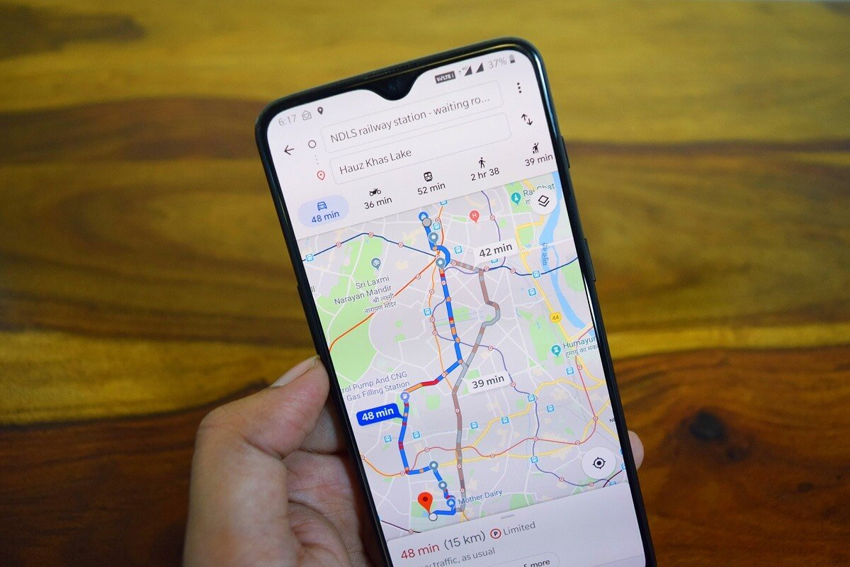 Fix Google Maps not showing directions in Android
