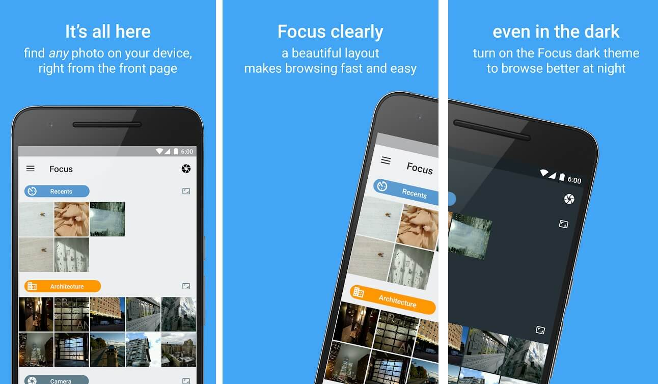Focus Go picture gallery   Best Android Gallery Apps For 2020