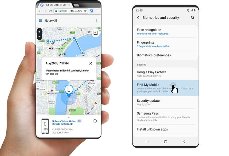 How to Find or Track your Stolen Samsung Smartphone