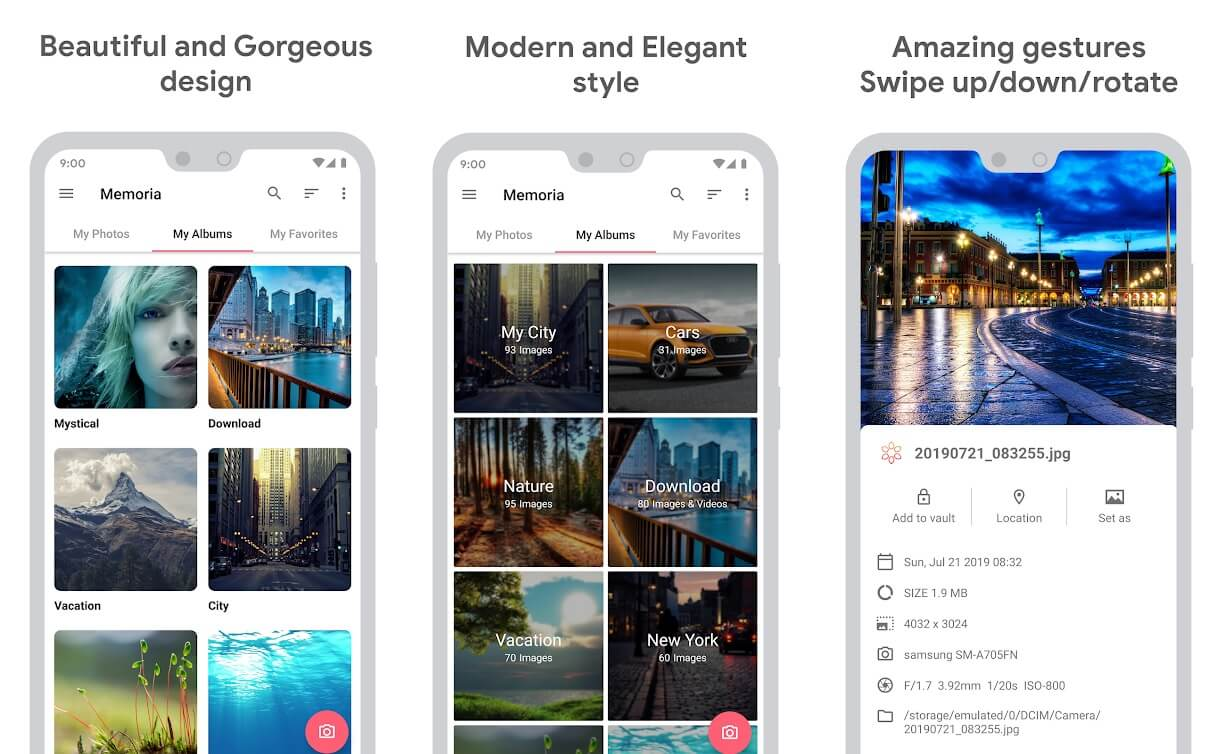 Memoria Photo Gallery   Best Android Gallery Apps For 2020