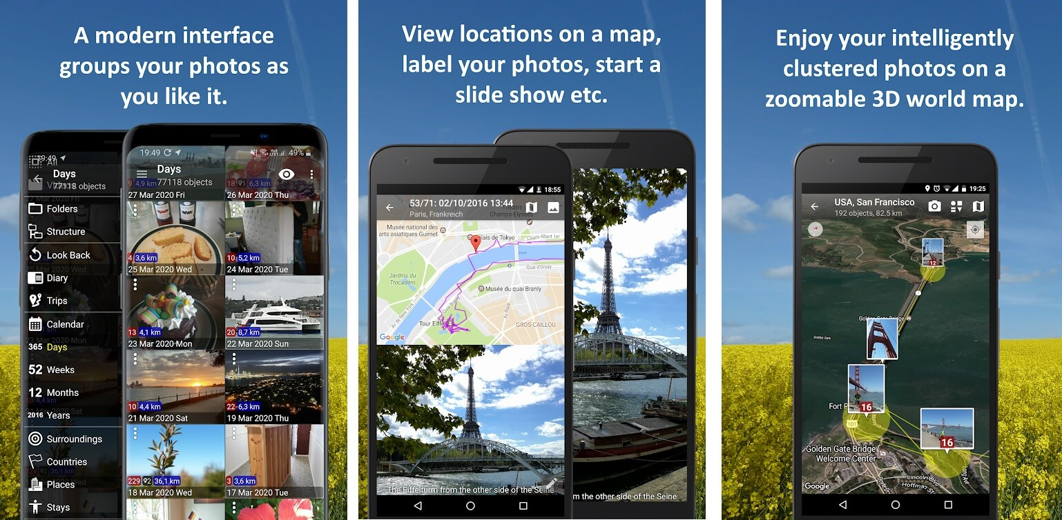 Photo Map   Best Android Gallery Apps For 2020