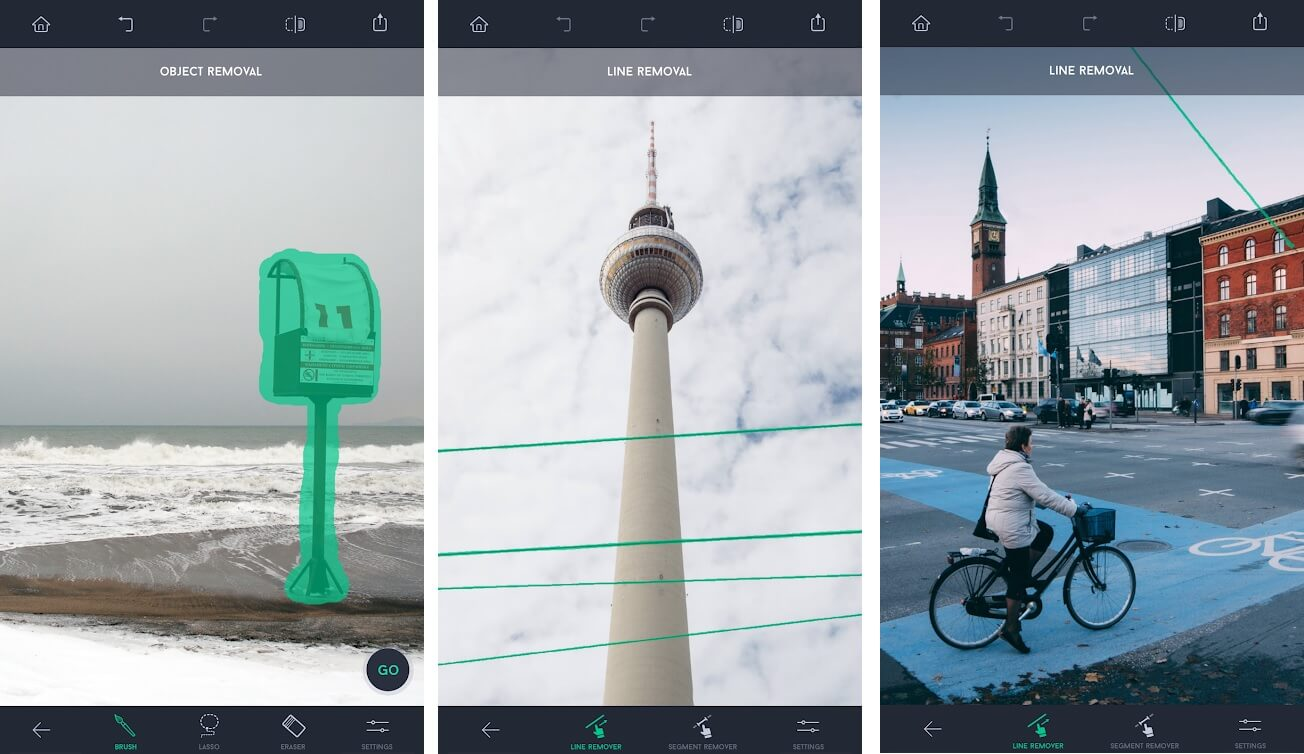 TouchRetouch Photo Editor app