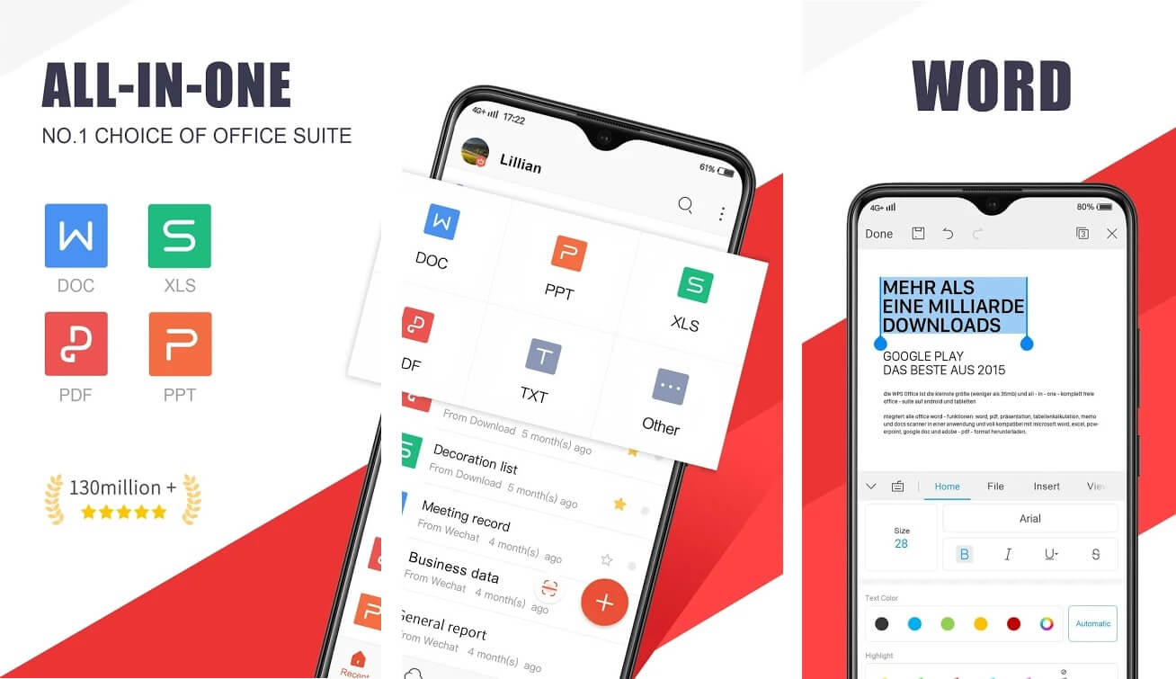 WPS OFFICE | Best Office Apps for Android to Boost Productivity