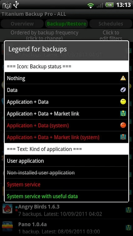 You will notice a list of icons on your phone of the contents | How to Back up your Android Phone