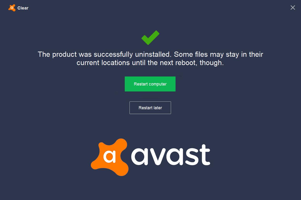 5 Ways to Completely Uninstall Avast Antivirus in Windows 10