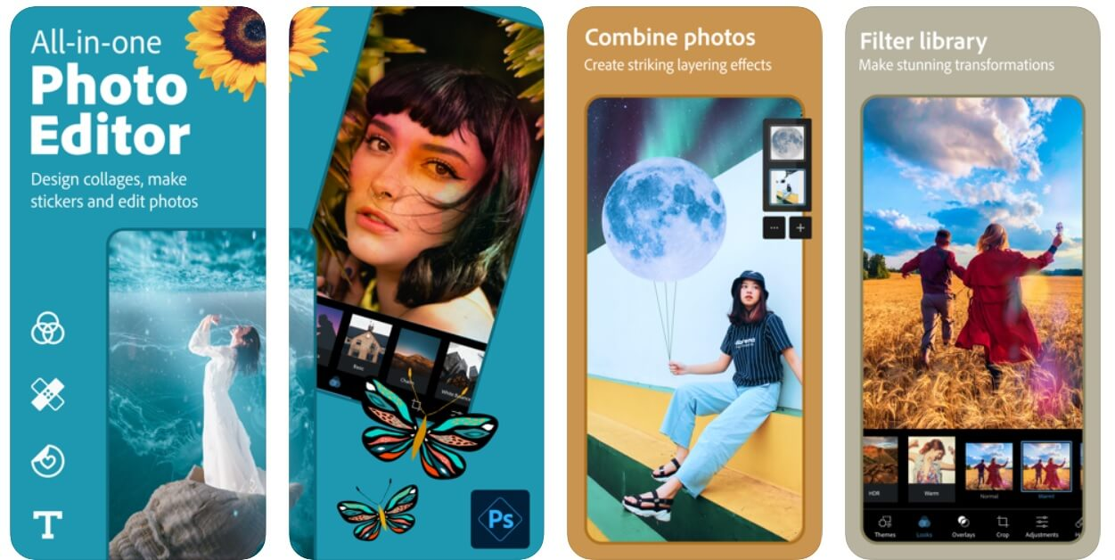 Adobe photo Express | Best Photo Editing Apps For iPhone (2020)