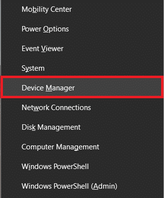 Click on Device Manager
