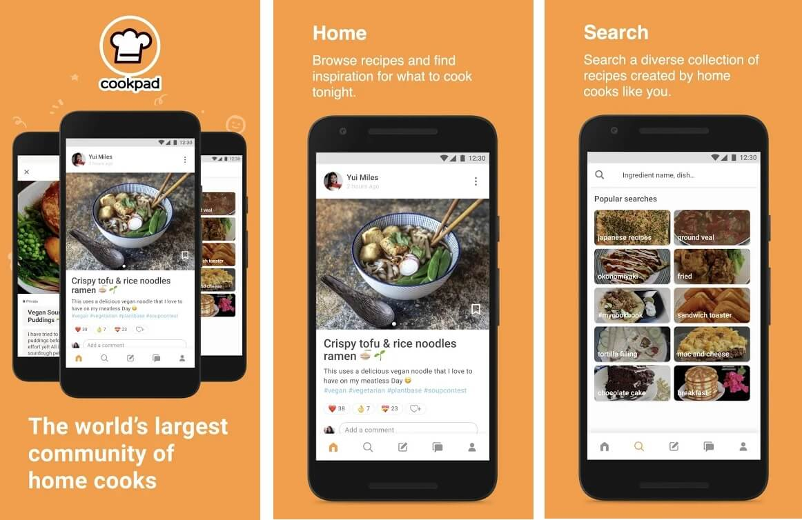 CookPad | Best Free Android Apps of 2020