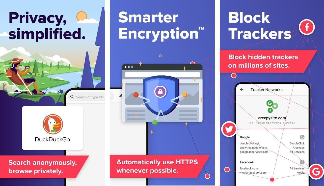 DuckDuckGo Privacy Browser | Best Free Android Apps of 2020