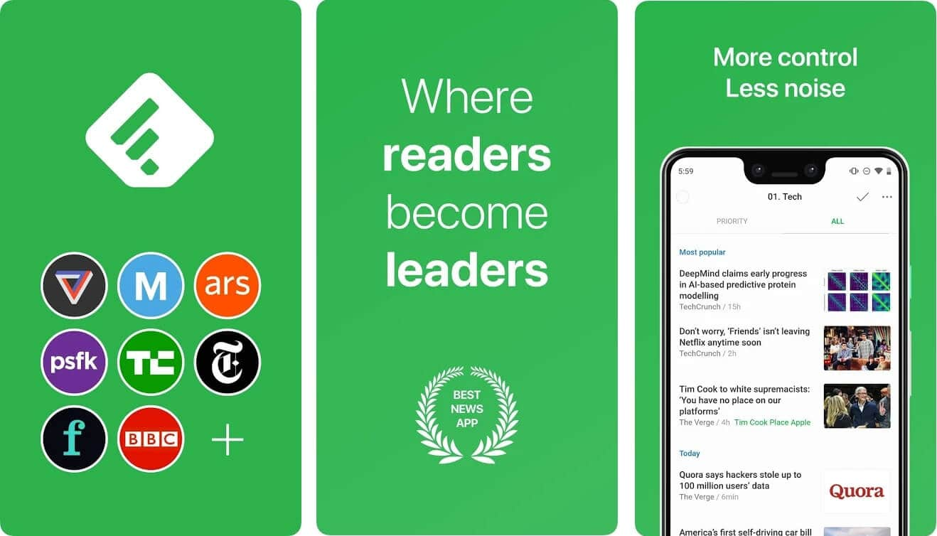 Feedly | Best Free Android Apps of 2020