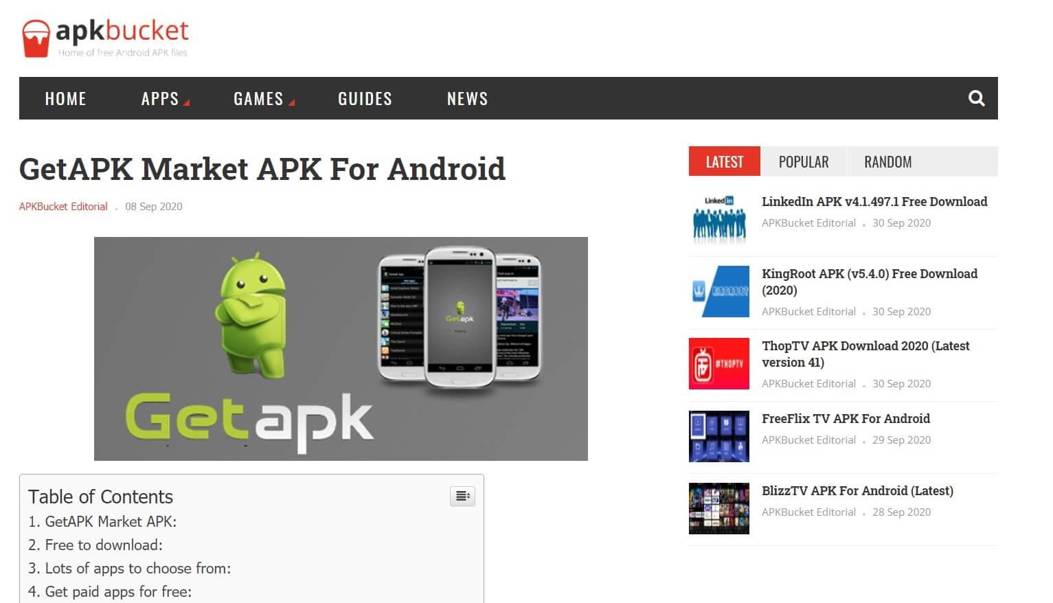 GetAPK Market APK   Best Google Play Store Alternatives
