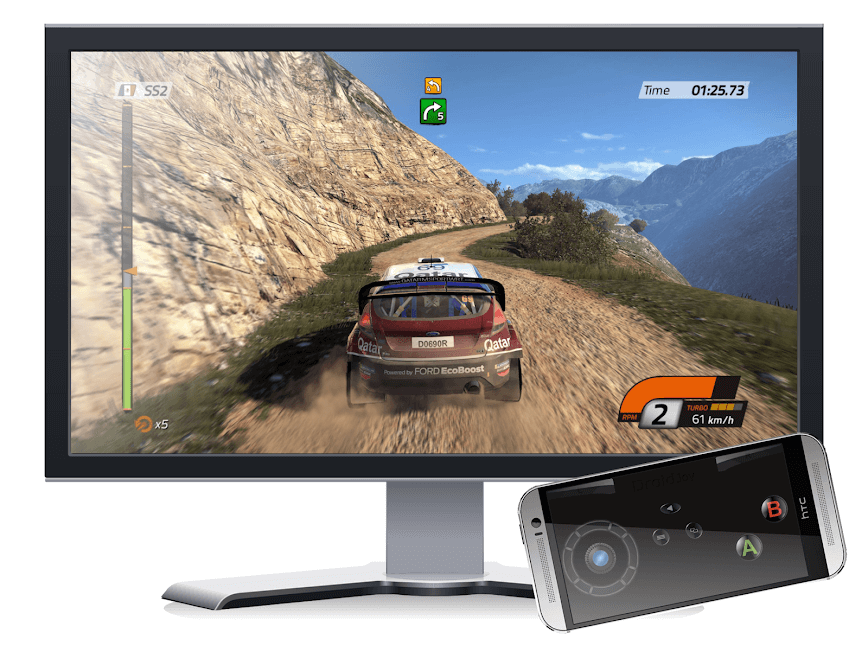 How to use Android phone as a PC gamepad