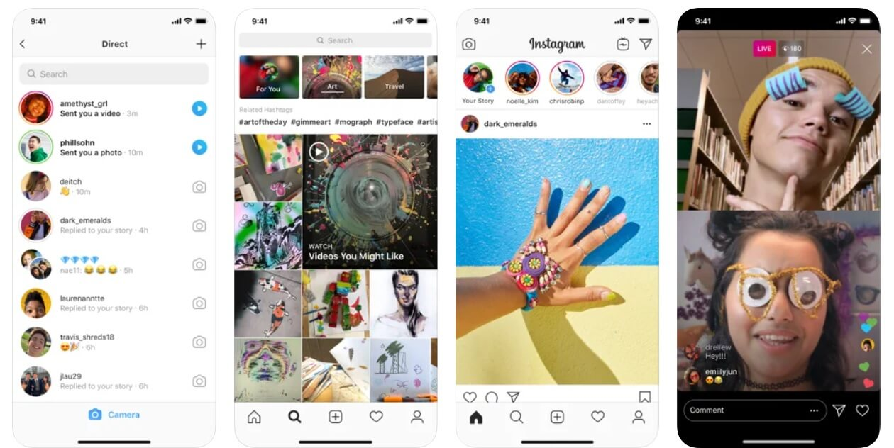 Instagram | Best Photo Editing Apps For iPhone (2020)