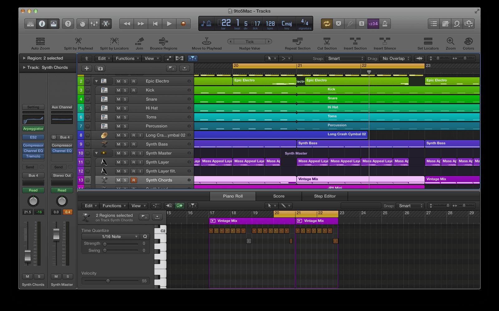Logic Pro X | Best Audio Editing Software for Mac (2020)