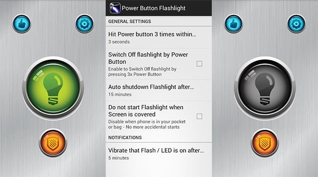Look for the widget for Flashlight and tap on it | Turn ON device flashlight using Google Assistant