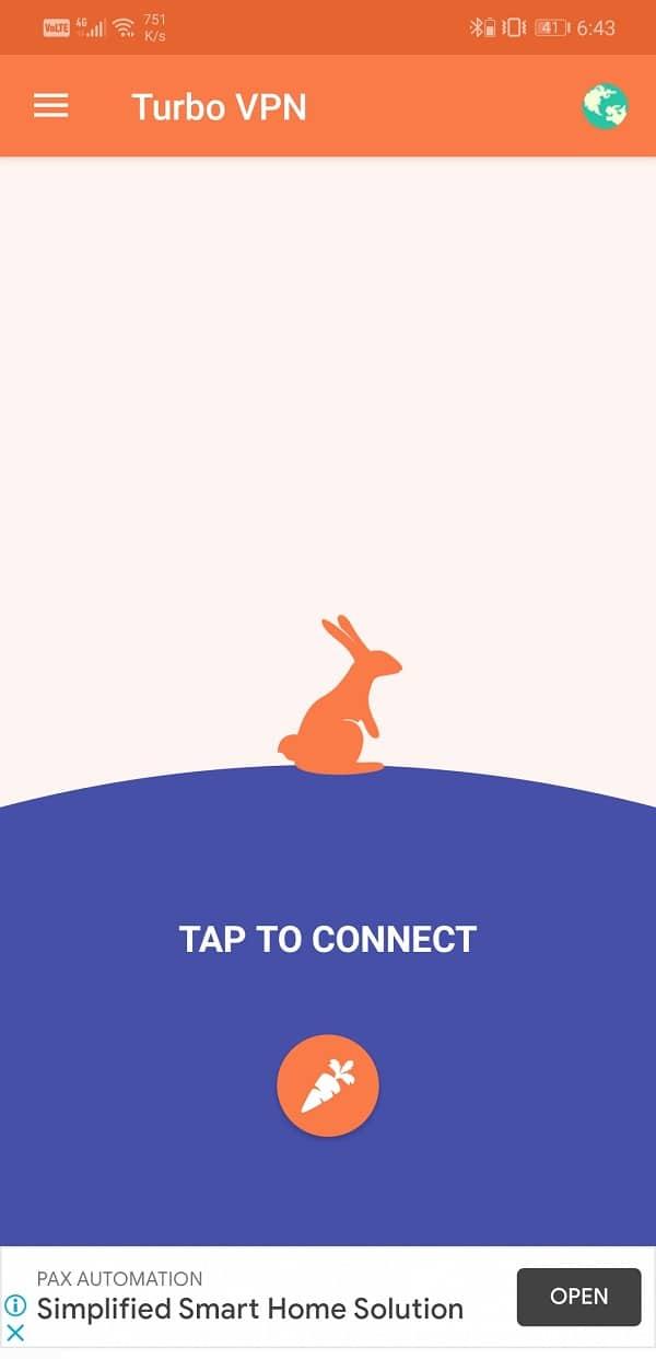 Open your VPN app