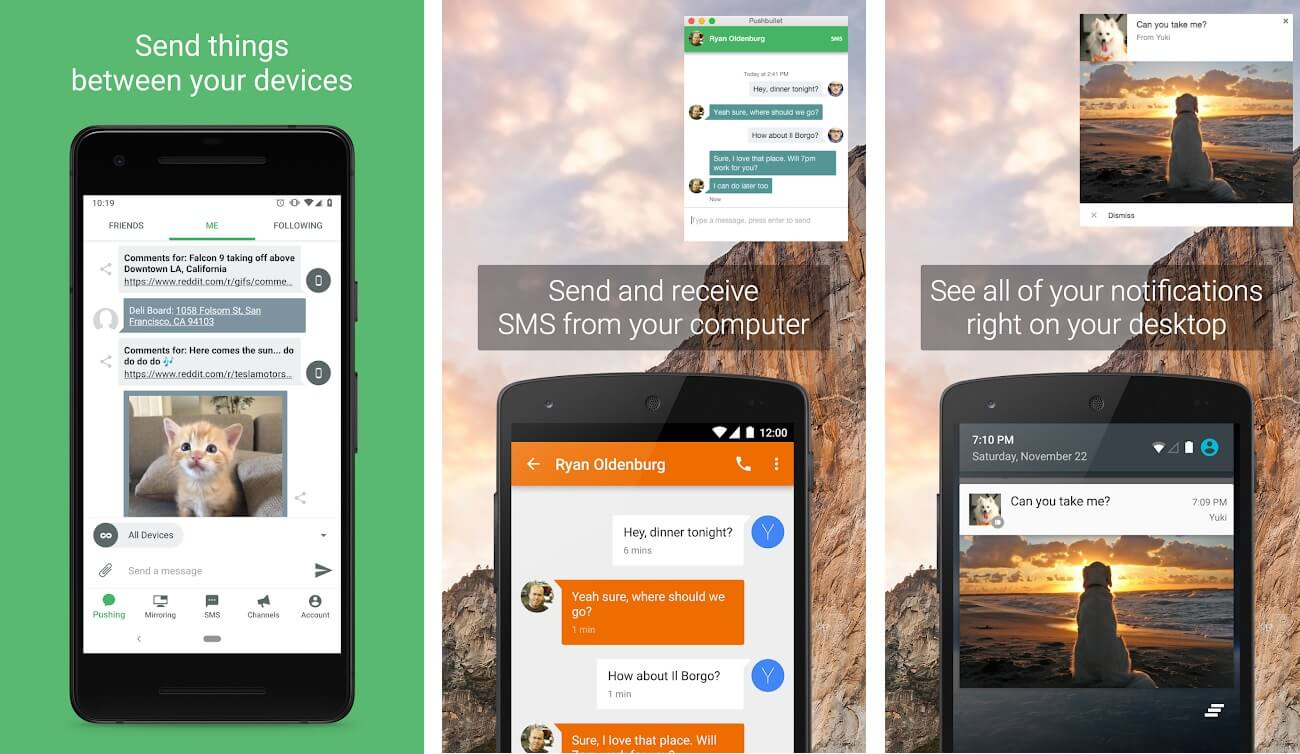 PushBullet | Best Free Android Apps of 2020