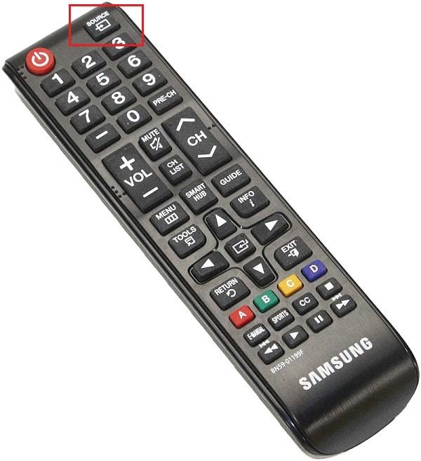 Set the Samsung TV Inputs Correctly