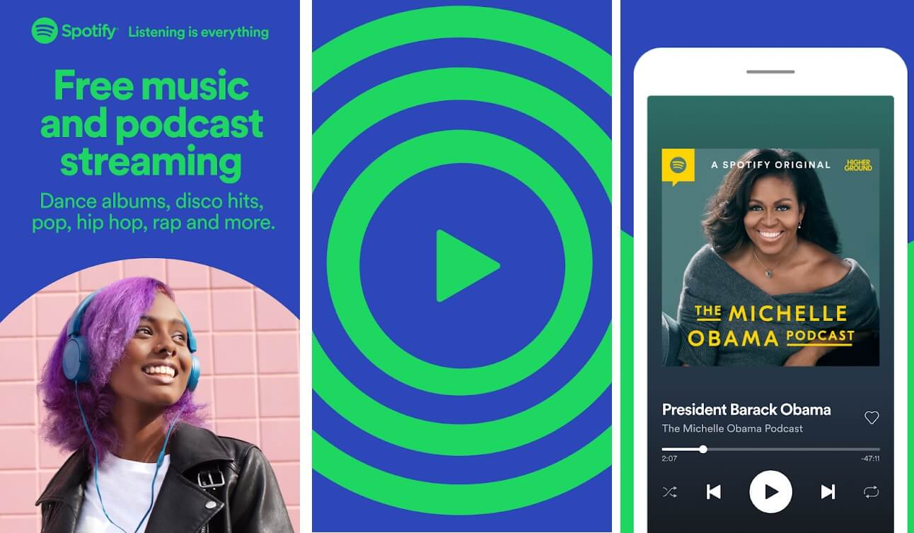 Spotify   Best Radio Apps for Android