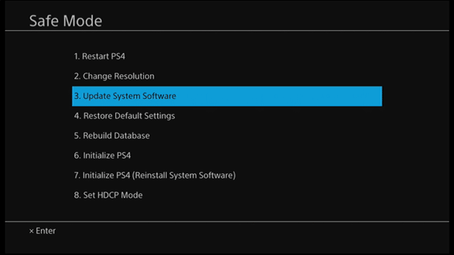 Update PS4 software in Safe Mode | Fix PS4 (PlayStation 4) Turning Off By Itself