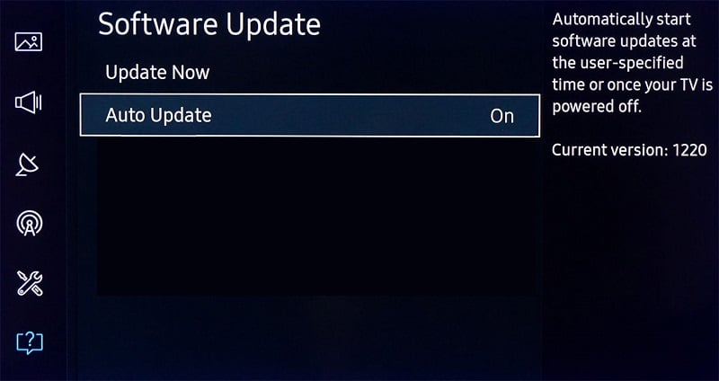 Update the Firmware of your Samsung TV