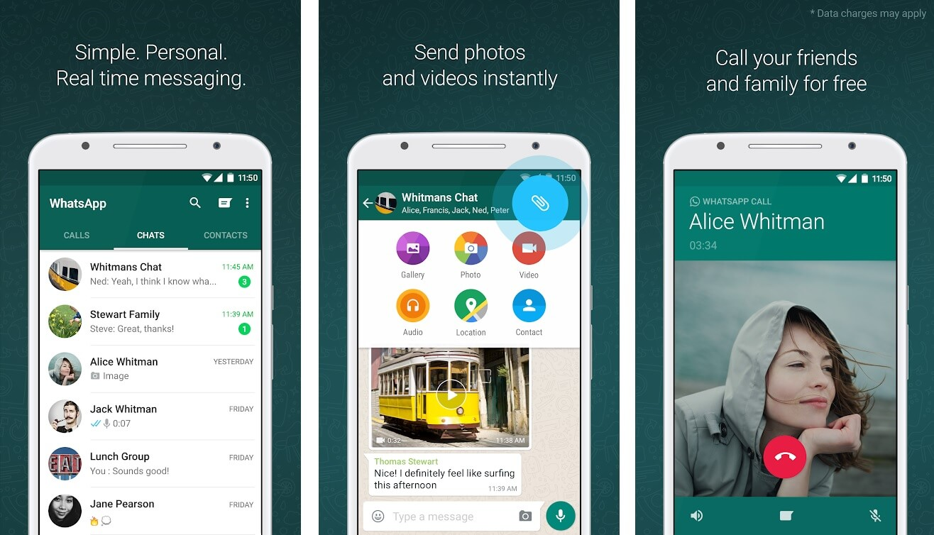 WhatsApp | Best Free Android Apps of 2020