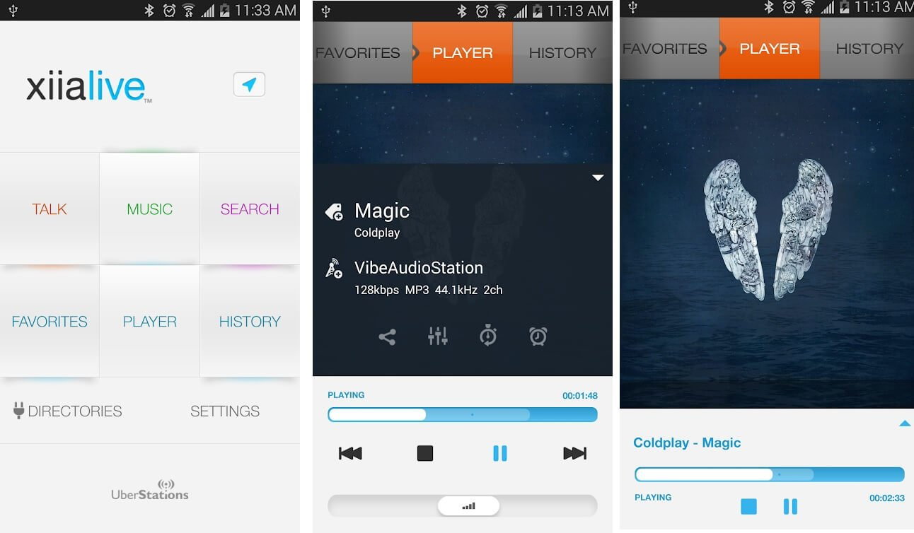 XiliaLive Internet Radio   Best Radio Apps for Android