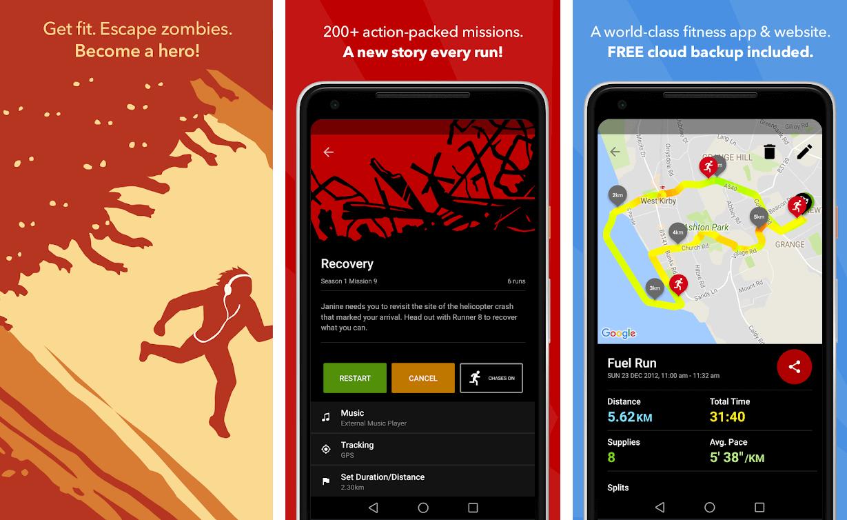 Zombies, Run App
