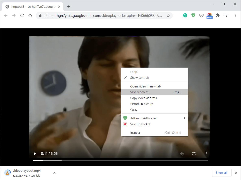 كيفية تحميل مقاطع الفيديو المضمنة داخل صفحة موقع إلكتروني مجانا