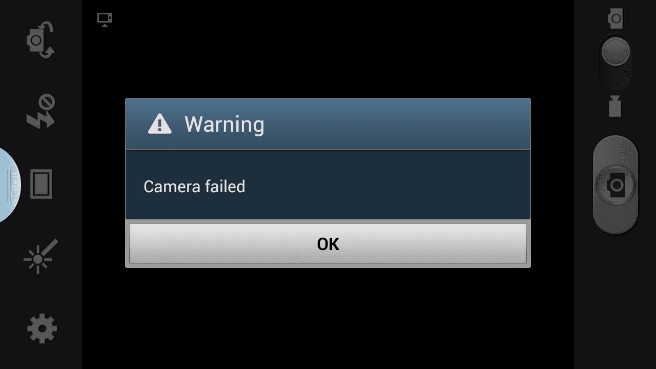 Fix Camera Failed Error on Samsung Galaxy