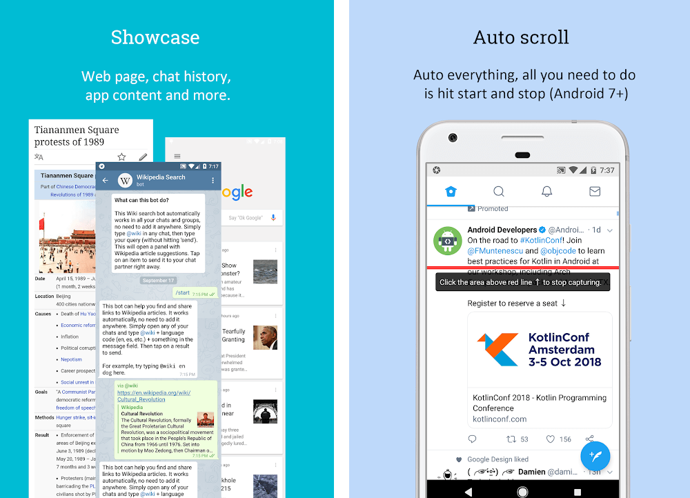 How to Capture Scrolling Screenshots on Android
