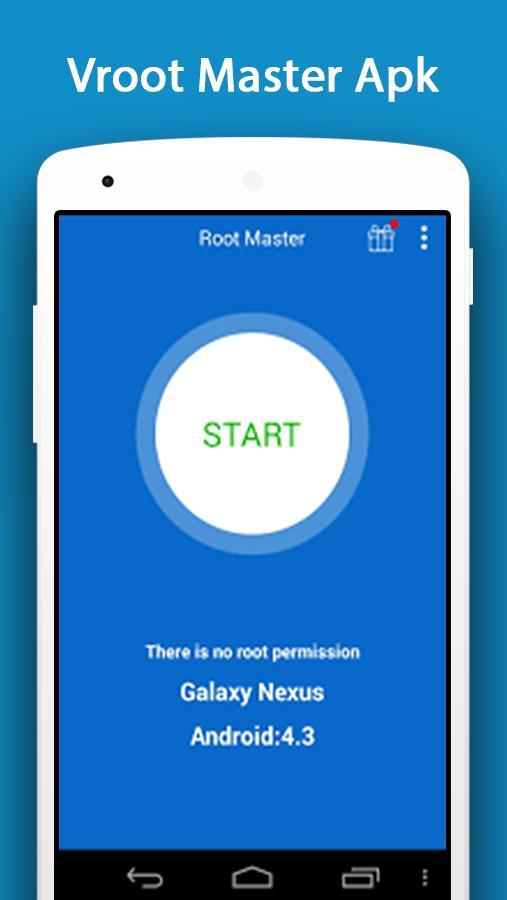 Launch the app and tap on the Root button | How to Root Android without a PC