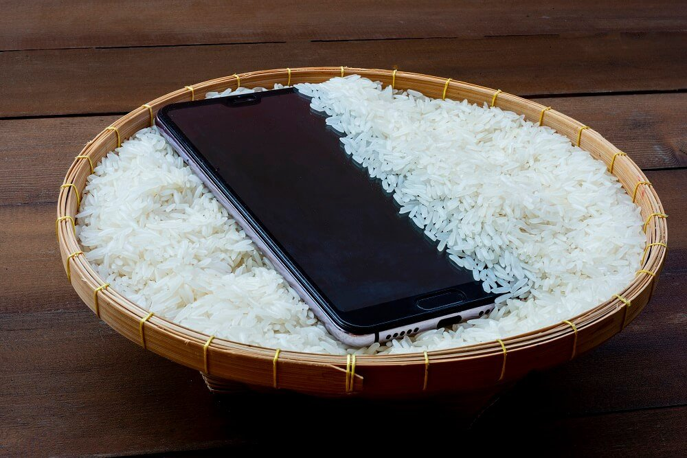 Leave the Phone in a Bag of Rice
