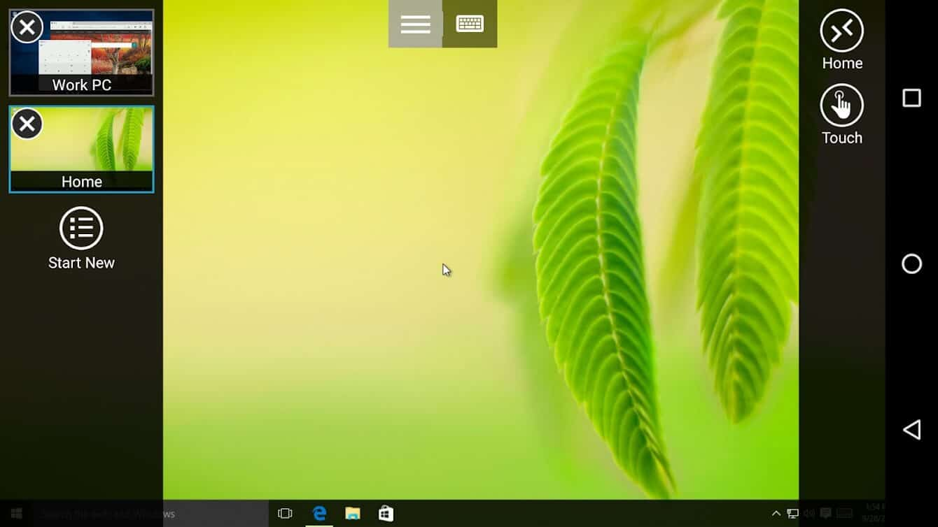 Microsoft Remote Desktop | Best Android Apps to Control PC from your Smartphone