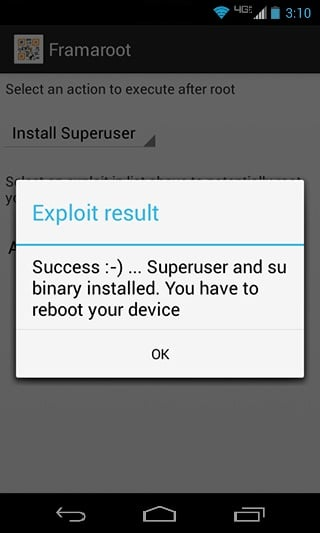 Select Exploit that is suitable for your device and then tap on the Root button | How to Root Android without a PC